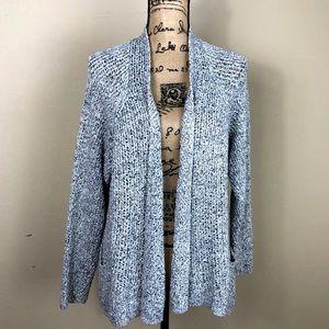 Eileen Fisher Gray Cotton Cardigan Sweater 2X